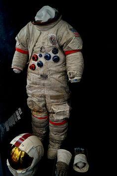 Dave Scotts Apollo 15 Space Suit