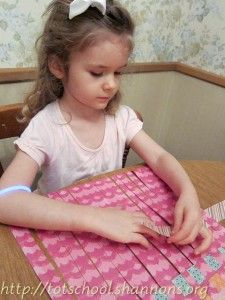 Paper Weaving- Pinned by @PediaStaff – Please Visit ht.ly/63sNtfor all our pediatric therapy pins