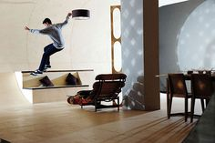 a home for skateborder?