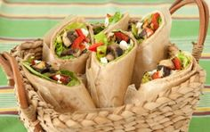 Grilled Veggie and Goat Cheese Wraps // Click through for 8 great sandwich recipes!