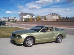 2006 Mustang GT 2006 mustang, lime mustang, mustang gt