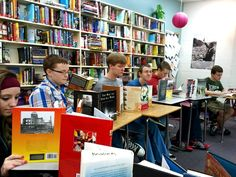 Book Speed Dating :). First library trip?  First few days of school with classroom library? ... Interesting idea.