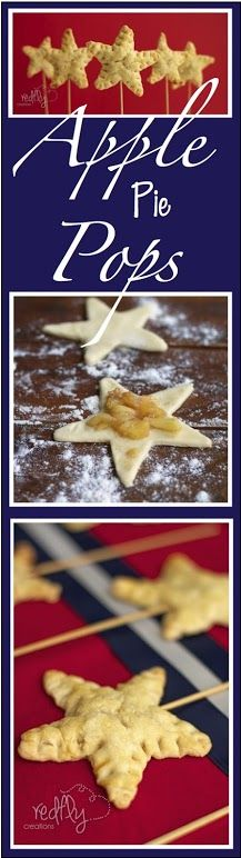 Apple Pie Pops!!  Quick and easy treat to take along to watch fireworks!