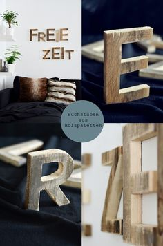 Pallet letters