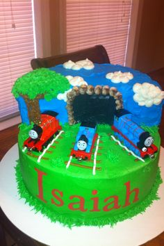Isaiah's Thomas the train