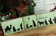 GroopDealz | Nativity Silhouette Blocks