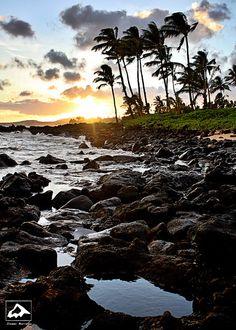 island sunset, vacat, beautiful hawaii sunsets, kauai hawaii, beach, honeymoons, travel, place, hawaiian islands