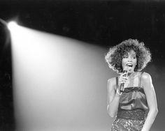 Whitney Houston in 1980.