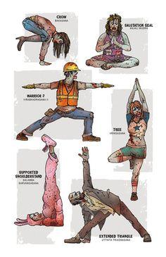 Zombie Yoga