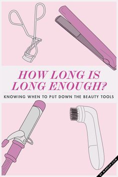 knowing when to put down the beauty tools