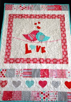 Lovey Dovey Valentine Wall Hanging