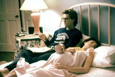 Kevin Bacon and Elizabeth McGovern from She's Having a Baby (1988)