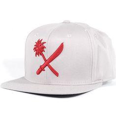 Us Versus Them Crosscut Snapback Hat (Grey) $23.95