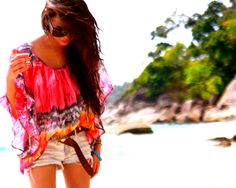 tie dye, summer styles, beach outfits, summer beach, summer outfits, inspired outfits, beach styles, summer tops, bright colors