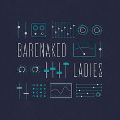 Barenaked Ladies T-shirt design by Brent Couchman