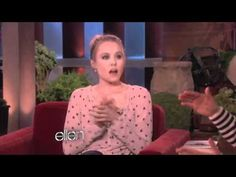 Kristen Bell's sloth gets auto-tuned