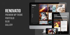 Renovatio - Responsive Fullscreen WordPress Theme
