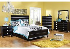 Bedroom sets daughter room olivia bedroom milan black black bedroom