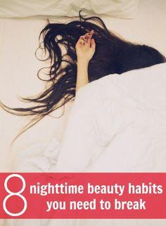 beauty habits you need to break