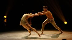 Emily James and Casey Askew perform a contemporary routine choreographed by Travis Wall.