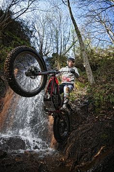Freestyle trials riders taking bikes where no motorcycle has gone before.  (hellforleathermagazine.com