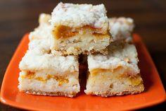 Peach Pie Bars.