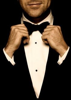 We swoon over a classic tuxedo.