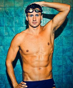 Ryan Lochte…we need him in our house.