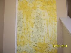 """Marimekko Fabric - TUNTURIPOLLO - Yellows - 72"""" x 57"""" - 2 yards - 100% linen #Marimekko"""