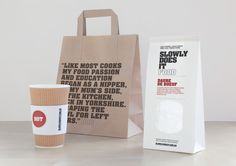 Slowly Does It Food packaging and branding