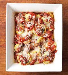 28 Hearty Vegetarian Main Dish Recipes | Midwest Living Savori Recip, Pasta Salad, New Recipes, Weight Loss, Food, Tomato Bake, Summer Squash, Vegetarian Main Dishes, Tomatoes