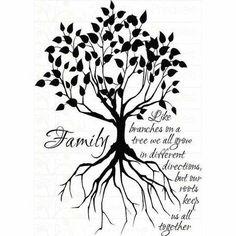 tree tattoos, tattoo idea, family trees, quotes, root