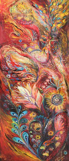 Elena Kotliarker -Four elements Fire