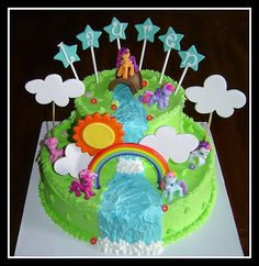 my little pony cake for kayleighs birthday wonder if i can make this!