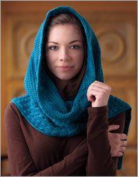 Hooded Scarf (crochet)