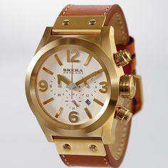 gold BRERA OROLOGI eterno watch from RedEnvelope.com