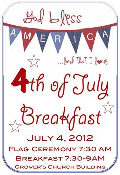 4th of july sale flyers
