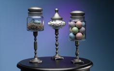 Freshen up your decor with this DIY springtime pedestal jar project. (via krylon.com)
