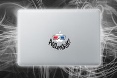 10th doctor inspired allons-y macbook decal
