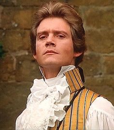 Anthony Andrews as the Scarlet Pimpernel