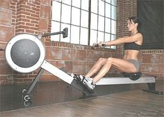 Rowing Machine = great workout