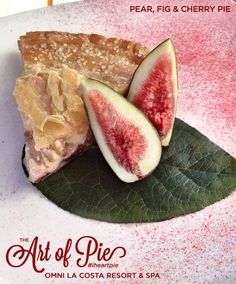 Pear, Fig and Cherry