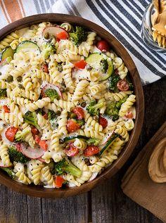 Cold Pasta Primavera Salad