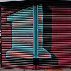 Ben Eine Letter l by Leo Reynolds, via Flickr