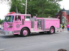 pink firetruck? yes, please. All around Texas ,)