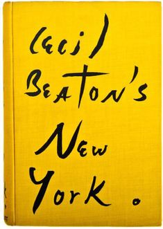 Cecil Beaton's New York - Striking book cover