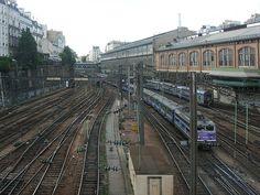 St Lazare station, Paris