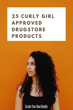 If you follow the curly girl method and are looking for some affordable curly hair products, check out this post! Here are twenty-five curly girl approved products you can find at your drugstore! #curlygirl #curlygirlmethod #curlygirltips #curlyhair #curlyhairtips