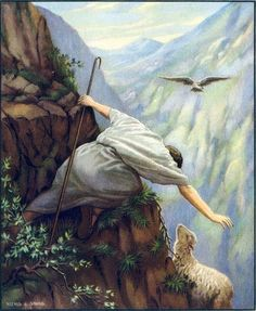 Parable of the Lost Sheep and Coin | in the parable of the lost sheep the shepherd has a hundred sheep but ...