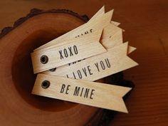 Cute tags.